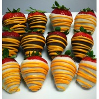 Fall Chocolate Covered Strawberry