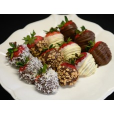 Assorted Chocolate Covered Strawberries